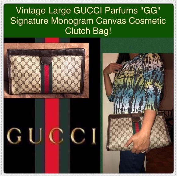 98f4a9cb7804 Gucci Handbags - Vtg GUCCI Parfums